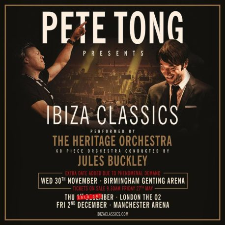Pete Tong presents Ibiza Classics at Genting Arena
