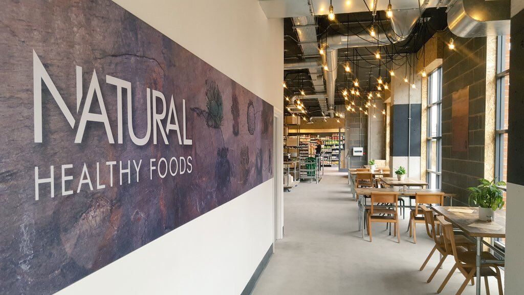 Natural Healthy Foods Store Eatery