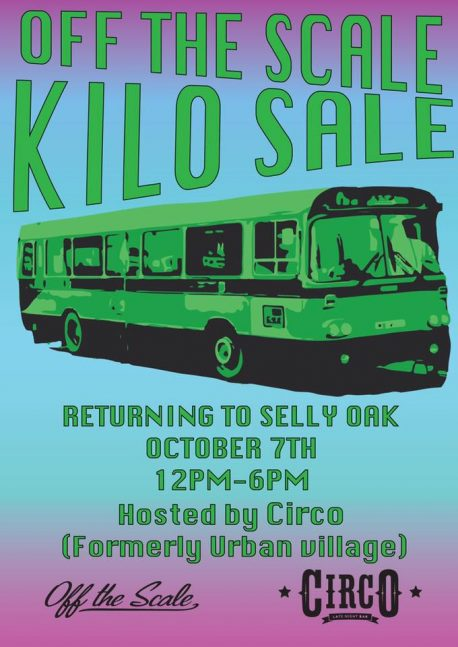 Kilo Sale at Circo Bar