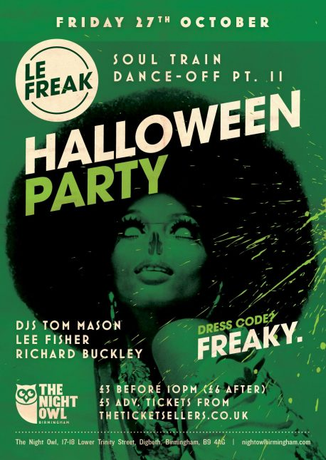 le freak halloween clubs
