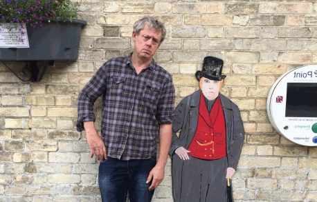 Graham Fellows at the mac