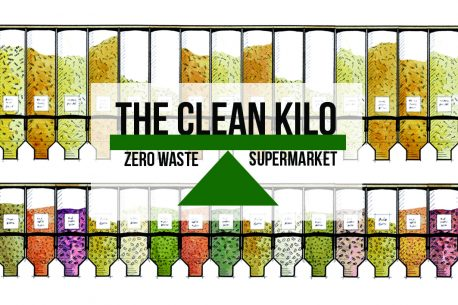 The Clean Kilo - logo on dispensers