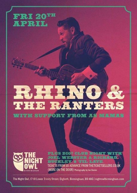 Rhino and the Ranters at The Night Owl
